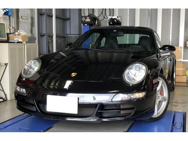 ポルシェ 911カレラS 911カレラS(4名) ディーラー車 左ハンドル ブラックレザー シートヒーター レッドキャリパー ETC HDDナビ