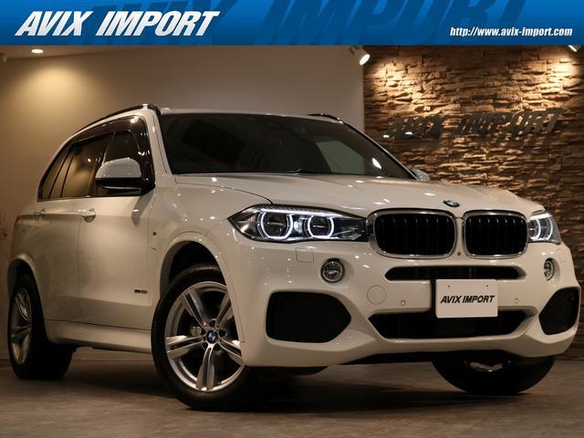 BMW X5 xDrive 35i Mスポーツ セレクトPKG パノラマSR 黒革 7人乗り シートヒーター 純正HDDナビ地デジ 全周カメラ&PDC ACC&インテリジェントS LEDヘッドライト 電動Rゲート 1オーナー