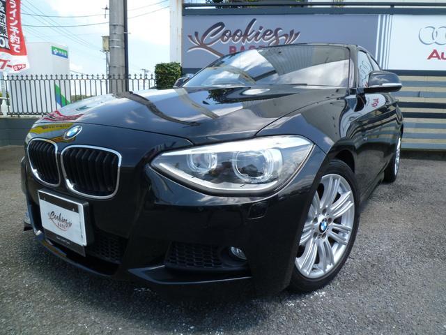 BMW 1シリーズ 116i Mスポーツ 正規ディーラー車 iDriveナビPKG フルセグTV クルーズC キセノンヘッドライト ETC プッシュスタート 17AW