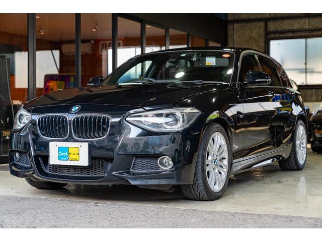 BMW 1シリーズ 120i Mスポーツ ツインスクロールターボ・ZF8速AT・コンフォートアクセス(スマートキー)・電動パワーシート・前後ドラレコ・純正ナビ・Bluetooth・リア3面スモークフィルム・Mスポーツ専用17インチ・
