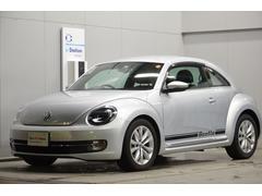 VW ザ・ビートルデザインレザーpkg 社外ナビ ETC 認定保証1年付