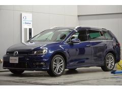 VW ゴルフヴァリアントRラインBMT ナビ ETC PDC 認定保証1年