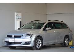 VW ゴルフヴァリアントTSI CL BMT 純正ナビ ETC 認定保証1年付