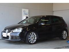 VW ゴルフR32 社外ナビ Rカメラ 黒革 認定保証6ヵ月