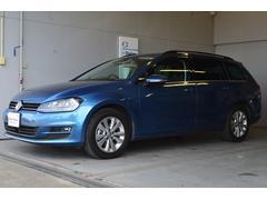 VW ゴルフヴァリアントTSIコンフォートライン ナビ ETC ACC 認定保証1年