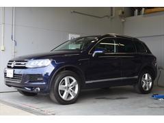 VW トゥアレグハイブリッド ナビ 黒革 アラウンドビュー 認定保証1年
