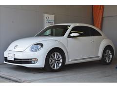 VW ザ・ビートルデザインレザーパッケージ ナビ Rカメラ ETC認定保証1年