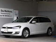 VW ゴルフヴァリアントアニバーサリーエディション  ナビ Sヒーター 認定保証1年