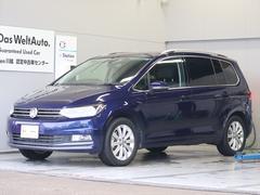 VW ゴルフトゥーランTSI ハイライン 純正ナビ Rカメラ ETC 新車保証