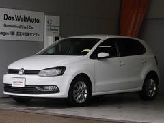 VW ポロアップグレードpkg ナビ Rカメラ 社外LED 認定保証