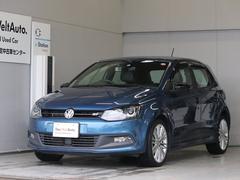 VW ポロブルーGT 純正ナビ ACC ETC Rカメラ 認定保証1年