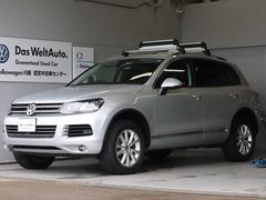 VW トゥアレグV6 純正フルセグナビ Rカメラ ETC 認定保証1年