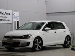 VW ゴルフGTIベースグレード ナビ ETC DCC 認定保証1年