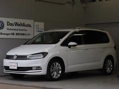 VW ゴルフトゥーランTSI ハイライン ACC ナビ Rカメラ ETC 認定保証