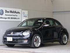VW ザ・ビートルデザインレザーPKG OP18インチ ナビ Rカメラ 黒革