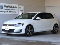 VW ゴルフGTIベースグレード 6速MT ナビ Rカメラ 新車保証