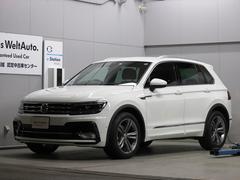VW ティグアンTSI Rライン 純正ナビ Rカメラ ETC 新車保証