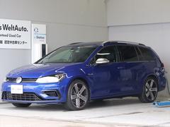 VW ゴルフRヴァリアント7.5 パノラマルーフ ナビ Rカメラ黒革 ETC 新車保証