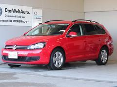 VW ゴルフヴァリアントTSI TLプレミアムエディション2012y認定保証6ヵ月