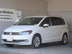 VW ゴルフトゥーランTDI ハイライン 試乗車ナビ テクノロジーPKG 新車保証