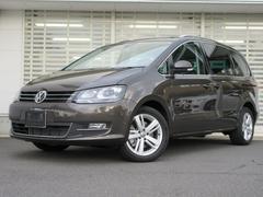 VW シャランTSIハイライン サンルーフ リアエンターテイメント 黒革