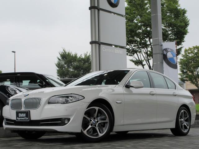 BMW アクティブハイブリッド5 黒レザー 地デジ付ナビ 18AW