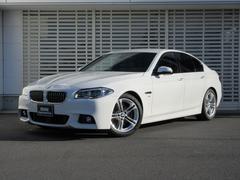 BMW528iMスポーツ 左ハンドル 黒革 マルチメーター LED