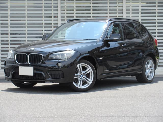 BMW X1 sDrive 18i Mスポーツパッケージ 地デジ付社外HDDインダッシュナビ キセノン 18インチアルミ ミュージックサーバー コンフォートアクセス ETCミラー キセノン リアガラスフイルム