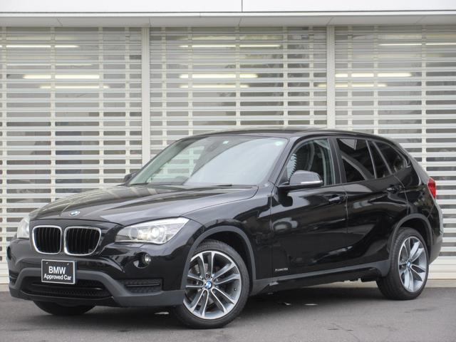 BMW X1 sDrive 18i スポーツ 車検令和4年7月 後期型 18インチアルミ ウインカーミラー キセノン ETCミラー リアガラスフイルム スポーツシート AUX端子