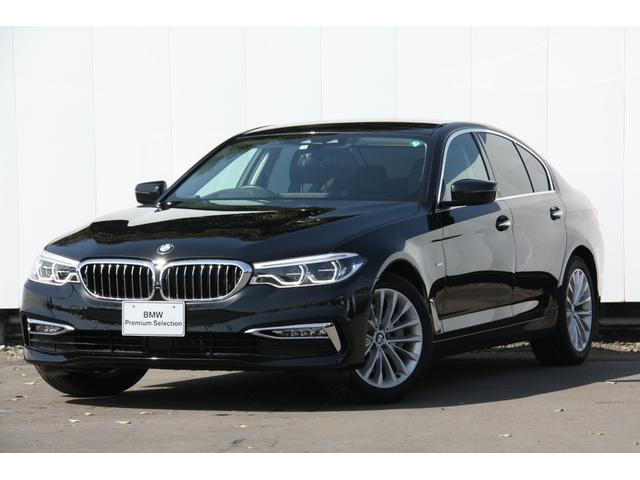 BMW 5シリーズ 530iラグジュアリー アドバンスドS 黒革 4席シートヒーター アクティブクルーズコントロール ドライビングアシスト HDDナビゲーション リヤビューカメラ Bluetooth ミュージックコレクション 禁煙車