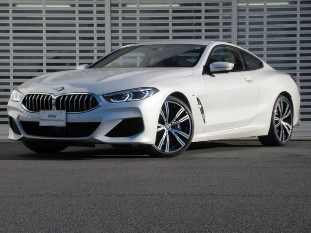 BMW 840d xDriveクーペ Mスポーツ レーザーライト オプション20インチアルミ タッチパネルナビ ヘッドアップディスプレイ 茶革 シートヒーター ハーマンカードンスピーカー マルチ液晶メーター 当社デモカー 禁煙車