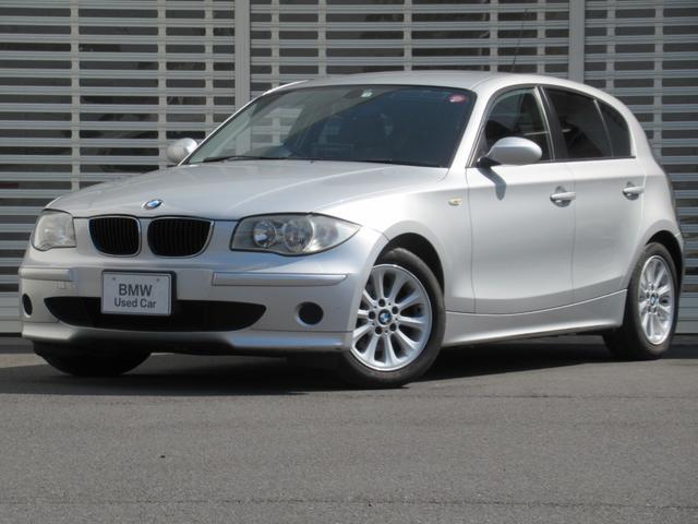 BMW 1シリーズ 116i 直4FRエンジン 6速ATステップトロニック 16インチアルミ CDラジオ オートエアコン DVDナビゲーション ETC  イモビライザー ハロゲンヘッドライト リモコンキー 禁煙車