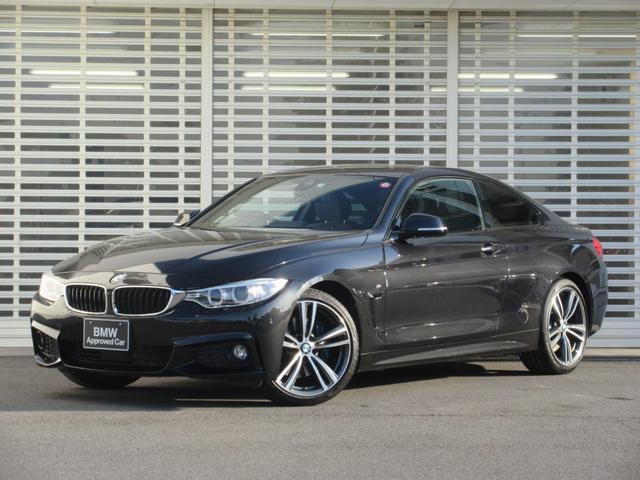 BMW 420iクーペ Mスポーツ ファストトラックパッケージ Mブレーキ Mサス アクティブクルーズコントロール ドライバーアシスト 19インチアルミ HDDナビゲーション リアビューカメラ ETC Bluetooth 禁煙車
