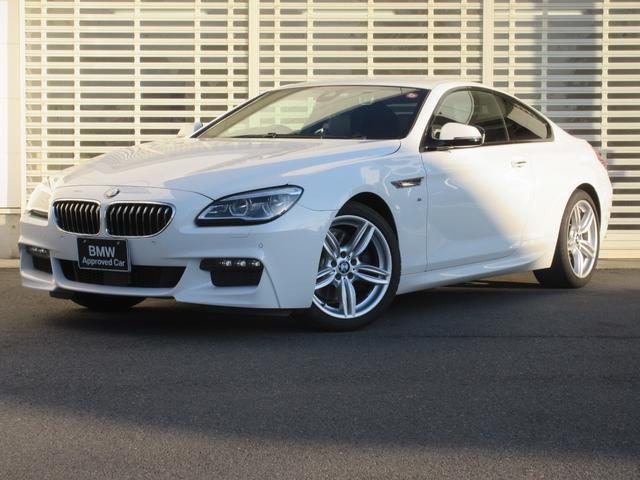 BMW 6シリーズ 640iクーペ Mスポーツ アダプティブLEDヘッドライト マルチ液晶メーター ヘッドアップディスプレイ レーンチェンジウォーニング アクティブクルーズコントロール 黒革 ドライビングアシスト 19インチアルミ 社外前カメラ