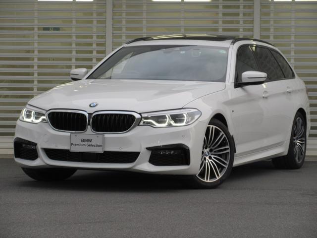 BMW 5シリーズ 523iツーリング Mスポーツ セレクトパッケージ ガラスサンルーフ LEDヘッドライト タッチパネルHDDナビゲーション リアビューカメラ アクティブクルーズコントロール ドライビングアシスト レーンチェンジウォーニング 禁煙