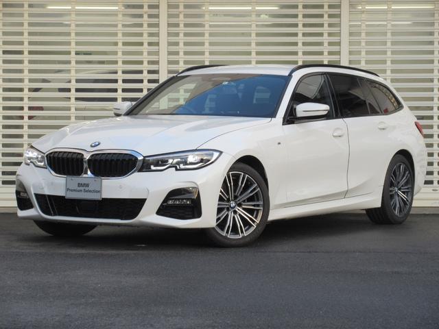 BMW 320d xDriveツーリング Mスポーツ クリーンディーゼル フルタイム4WD アクティブクルーズコントロール ドライビングアシスト タッチパネルHDDナビゲーション 前後カメラ 黒半革シート シートヒーター LEDヘッドライト ETC