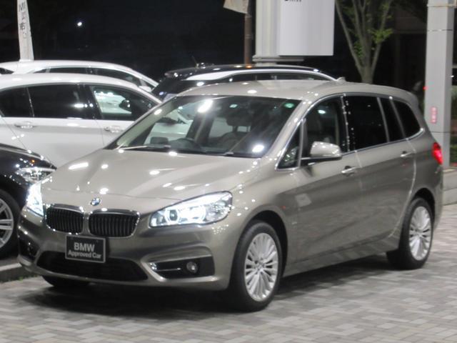 BMW 218dグランツアラー ラグジュアリー アドバンスドアクティブセーフティ LEDヘッドライト アクティブクルーズコントロール ドライビングアシスト ヘッドアップディスプレイ HDDナビ リアビューカメラ 電動リアゲート 禁煙車
