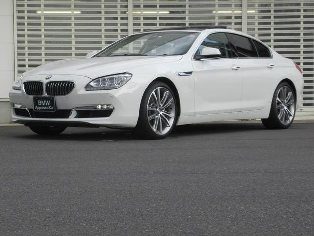 BMW 6シリーズ 640iグランクーペ コンフォートパッケージ Mスポーツ用20インチアルミ ガラスサンルーフ アイボリーレザーシート 前席ベンチレーションシート 後席シートヒーター アダプティブLEDヘッドライト クルコン 禁煙車