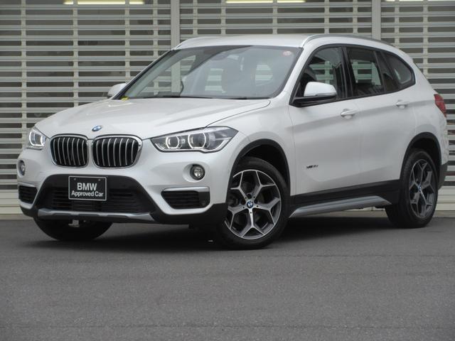 BMW X1 xDrive 18d xライン Xライン コンフォートパッケージ パワーリアハッチゲートドライビングアシスト LEDヘッドライト HDDナビゲーション リアビューカメラ パワーリアハッチゲート コンフォートアクセス ミラーETC