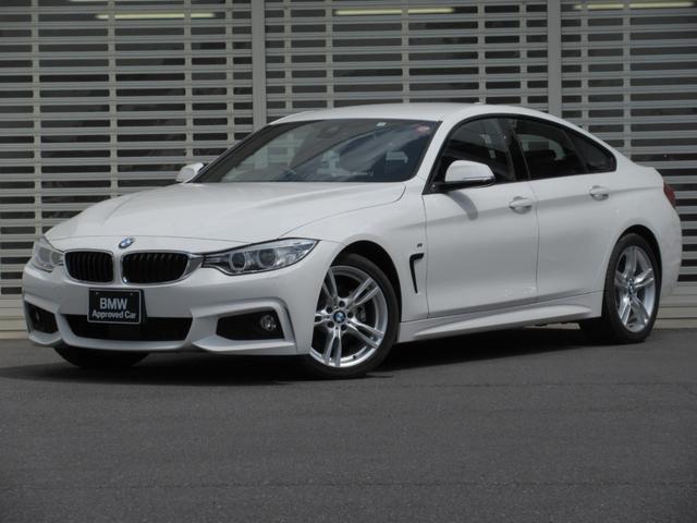 BMW 420iグランクーペ Mスポーツ Mスポーツ アクティブクルーズコントロール ドライブアシスト リアビューカメラ LEDヘッドライト 電動リアゲート HDDナビゲーション ミュージックコレクション Bluetooth 禁煙車
