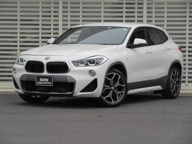 BMW X2 xDrive 20i MスポーツX アドバンスドアクティブセーフティーパッケージ コンフォートパッケージ シートヒーター HDDナビゲーション リアビューカメラ ETC パドルシフト パワーリアゲートハッチ 19インチアルミホイール