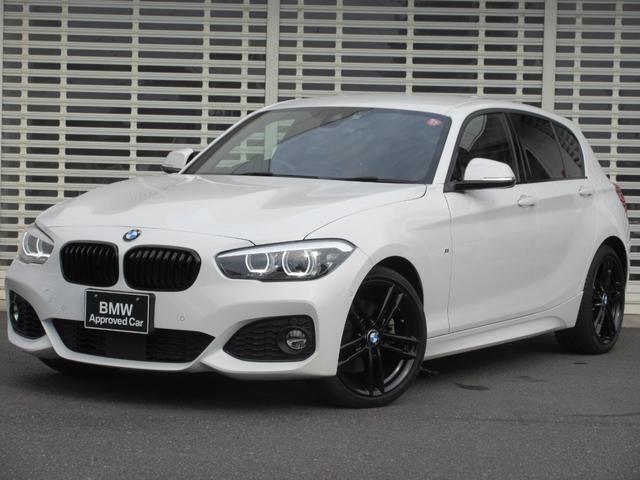 BMW 1シリーズ 118i Mスポーツ エディションシャドー LEDヘッドライト 茶レザーシート シートヒーター 純正ブラック18インチアルミ アクティブクルーズコントロール ドライビングアシスト HDDナビゲーション リヤビューカメラ Bluetooth禁煙