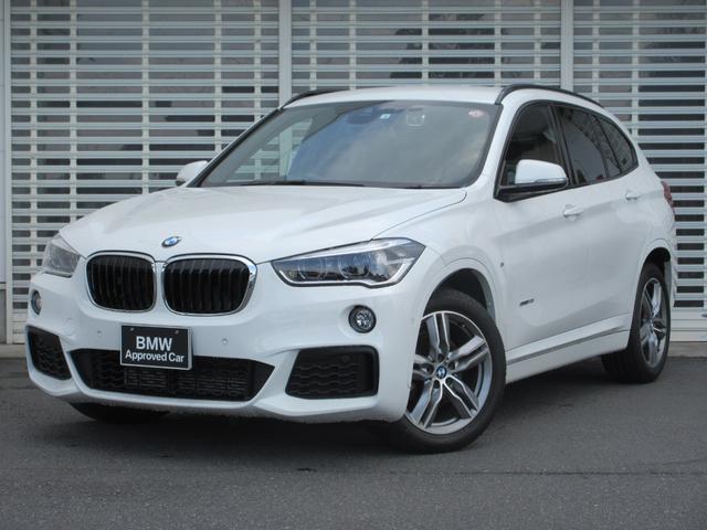 BMW X1 sDrive 18i Mスポーツ コンフォートパッケージ LEDヘッドライト 18インチアルミ 電動リヤゲート HDDナビゲーション リヤビューカメラ Bluetooth スライド式リヤシート ETC ドライビングアシスト 禁煙