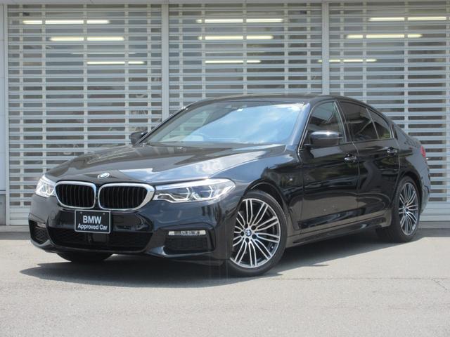 BMW 523i Mスポーツ アダプティブLEDヘッドライト 純正19インチアルミ アクティブクルーズコントロール ドライビングアシスト レーンチェンジウォーニング HDDナビゲーション リヤビューカメラ Bluetooth 禁煙