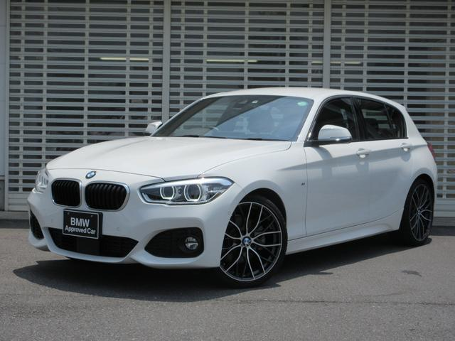 BMW 1シリーズ 118i Mスポーツ 純正オプション19インチアルミ ブラックレザーシート シートヒーター LEDヘッドライト HDDナビゲーション リヤビューカメラ ETC Bluetooth ミュージックコレクション 禁煙車