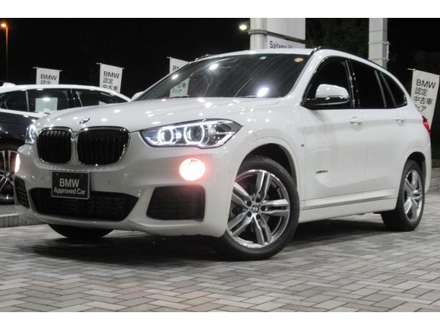 BMW X1 xDrive 18d Mスポーツ コンフォートパッケージ LEDヘッドライト Mスポーツ専用18インチアルミ ドライビングアシスト HDDナビゲーション リヤビューカメラ 電動リヤゲート ETC USB Bluetooth 禁煙車