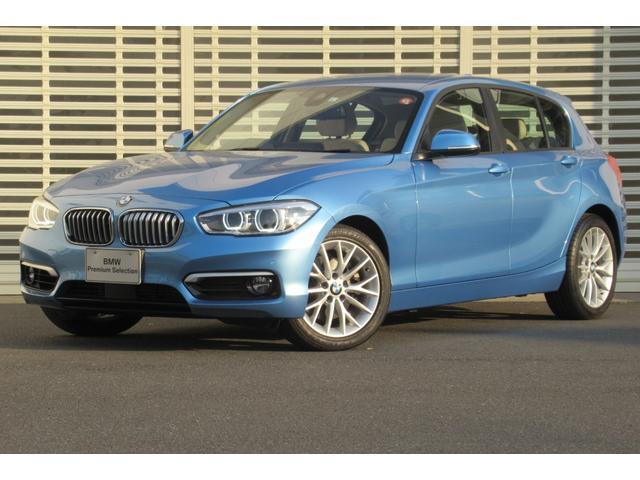 BMW 118i ファッショニスタ 禁煙車 アップグレードパッケージ LEDヘッドライト ドライビングアシスト HDDナビゲーション アクティブクルーズコントロール オイスターレザー シートヒーター パワーシート コンフォートアクセス
