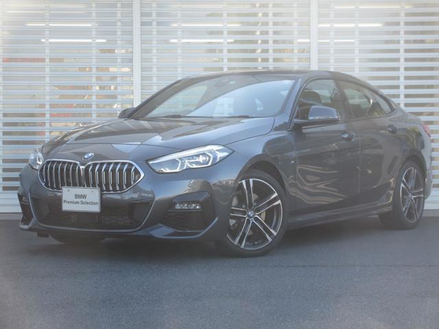 BMW 218iグランクーペ Mスポーツ ワンオーナー 禁煙車 ドライビングアシスト レーンチェンジウォーニング アクティブクルーズコントロール HDDナビゲーション リアビューカメラ 運転席パワーシート コンフォートアクセス