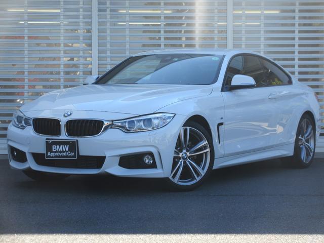 BMW 4シリーズ 420iクーペ Mスポーツ ワンオーナー 禁煙車 LEDヘッドライト 19インチアルミホイール ドライビングアシスト アクティブクルーズコントロール リアビューカメラ パワーシート コンフォートアクセス ETC2.0