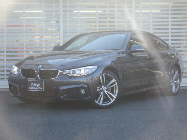 BMW 4シリーズ 440iグランクーペ Mスポーツ ワンオーナー 禁煙車 キセノンヘッドライト 19インチアルミホイール ドライビングアシスト レーンチェンジウォーニング ヘッドアップディスプレイ アクティブクルーズコントロール リアビューカメラ